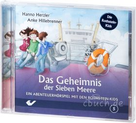 Herzler/Hillebrenner: Das Geheimnis der Sieben Meere (Audio-Hörspiel)