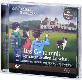 Herzler/Hillebrenner: Das Geheimnis der verhängnisvollen Erbschaft (Audio-Hörspiel)
