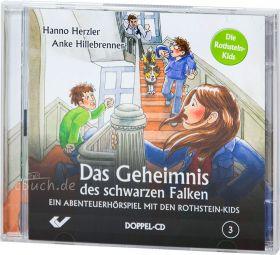 Herzler/Hillebrenner: Das Geheimnis des schwarzen Falken (Audio-Hörspiel)