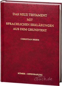 Briem: Das Neue Testament mit sprachlichen Erklärungen 2