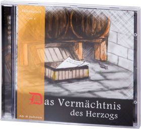 Das Vermächtnis des Herzogs - Teil 2 (Audio-Hörspiel-CD)
