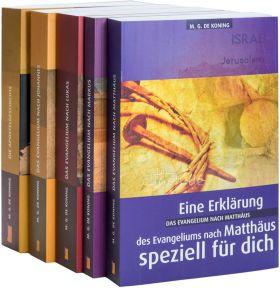 """Paket """"de Koning"""" V - Matthäus bis Apostelgeschichte (Daniel Verlag)"""