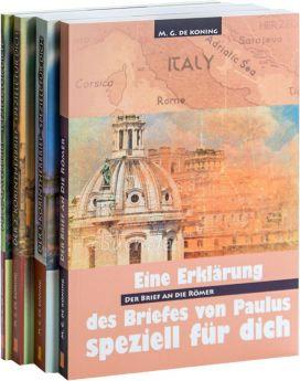 "Paket ""de Koning"" I - Römer, Korinther, Galater (Daniel-Verlag)"
