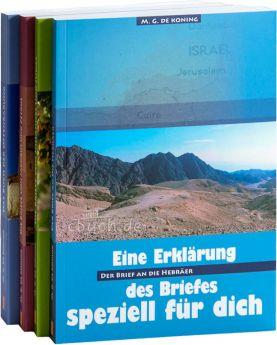 """Paket """"de Koning"""" III - Hebräer bis Offenbarung (Daniel Verlag)"""