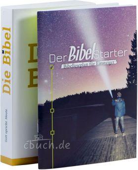 Bibellesepaket 1: Schlachter 2000 Verteilbibel + Der BibelStarter