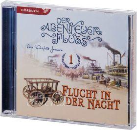 Lois Walfrid Johnson: Flucht in der Nacht (MP3-Hörbuch) - Der Abenteuer-Fluss Band 1