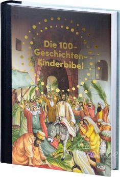 Die 100 ausgewählten Geschichten aus dem Alten und dem Neuen Testament erzählen von Gottes Liebe und Gnade.