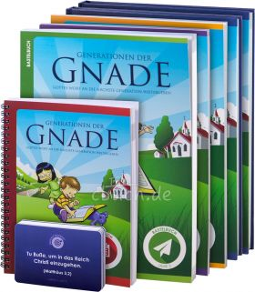 Generationen der Gnade – Paket für Kindermitarbeiter – Jahr 3