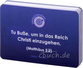 Generationen der Gnade – Lernkarten mit Bibelversen – Jahr 3
