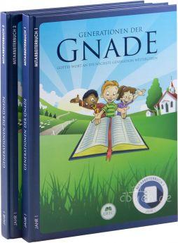 Generationen der Gnade – Mitarbeiterbuch (2 Bände) – Jahr 1