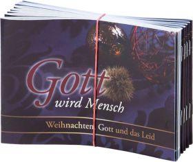 Gott wird Mensch – Verteilheft zu Weihnachten – 10er Pack