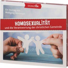 Wolfgang Nestvogel: Homosexualität - (MP3-Vortrag) und die Verantwortung der christlichen Gemeinde