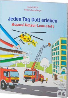 Habicht / Schweinberger: Jeden Tag Gott erleben - Ausmal-Rätsel-Lese-Heft