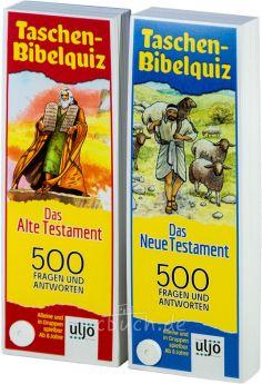 Taschen-Bibelquiz  im Set - Altes und Neues Testament