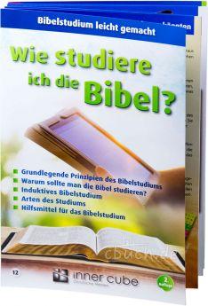 Wie studiere ich die Bibel? - Leporello 12