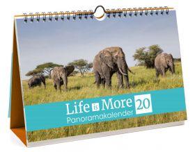 Verteilkalender: Life-is-More Panoramakalender 2020