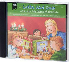 Kirsten Brünjes: Lotta und Luis und die Weihnachtskisten (CD-Audio-Hörspiel)