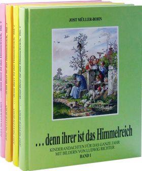 Jost Müller-Bohn: Denn ihrer ist das Himmelreich (Paket) - Kinderandachten für 1 Jahr