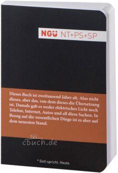 NGÜ NT + Psalmen + Sprüche - Mini-Ausgabe