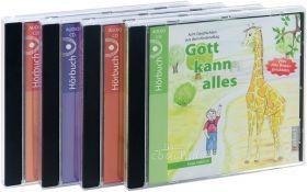 Habicht: Gott kann alles Hörbuchreihe im Set (4 Audio-CDs)