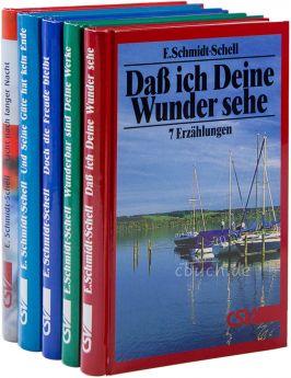 Schmidt-Schell: Paket 5 Sammelbände von Erzählungen