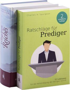 """Paket """"Spurgeon classic""""  """"Ratschläge für Prediger"""" und """"Das Evangelium des Reiches"""""""