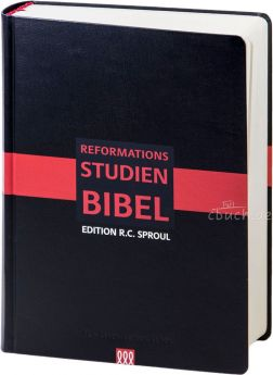 Reformations-Studien-Bibel 2017 - schwarz, Cabra-Leder