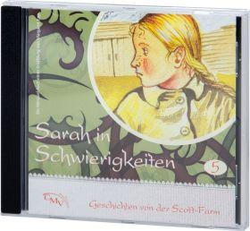 Sarah in Schwierigkeiten (5) - Hörspiel CD