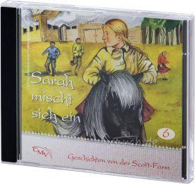 Sarah mischt sich ein (6) - Hörspiel CD - CMV Verlag