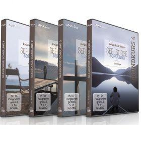 Seelsorge Schulung Grundkurse 1-4 - Roland Antholzer - DVDs