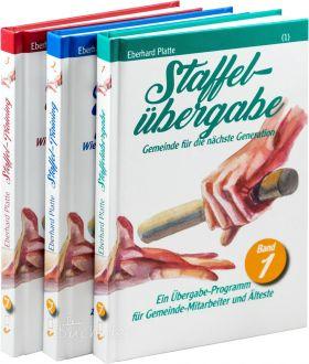 Eberhard Platte: Staffelübergabe - Paket (Band 1-3) - Wie Glaube morgen gelebt werden kann