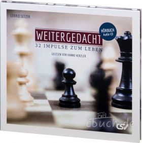 Gerrid Setzer: Weitergedacht (Hörbuch-CD)