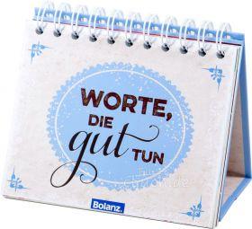 Postkartenaufstellbuch - Worte die gut tun